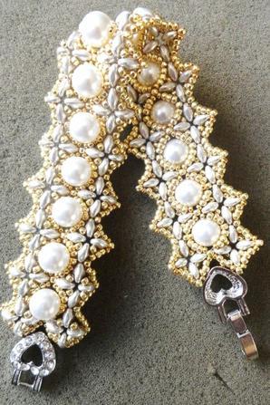 Bracelet Victoria et boucles hibitwin !