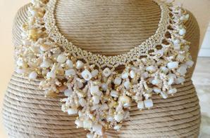 Corail beige et or !