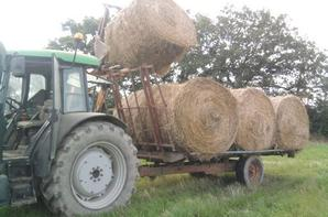Le new holland qui me charge
