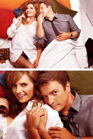 photo promotionnelles castle saison 5