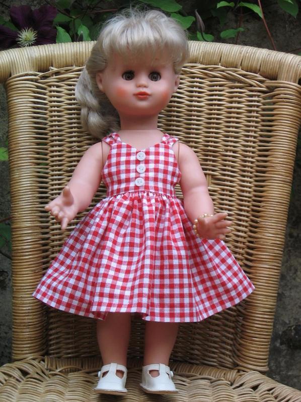 Version vichy rouge du modèle de juillet 2015 pour Emilie.