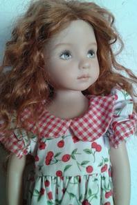 Les différentes perruques de ma Little Darling ...