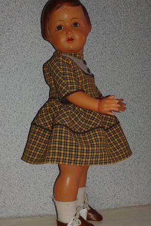 Françoise porte la robe de octobre 1958