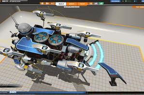 Robocraft, Update du SnowRacer