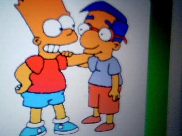 Bart Et Milhouse *-*