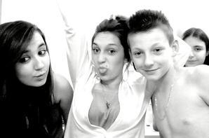 Mon Cheriie ~Alviin~ & Ma Femme ~Célie~ & Moii (sortie de douche en mode decoiffer demaquiller ! Baah Bravo Morray# !