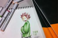 dessin fait par Hiro Mashima