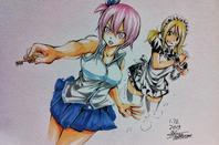 dessin de Hiro Mashima