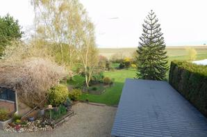 le fond du jardin ( avec mon gros ventilo ! )