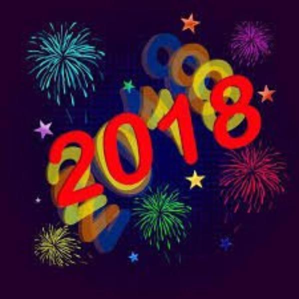 Bonne Année 2018 à tous mes amis .
