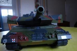 Léopard.2A5 transformer en Leclerc au 1/16 :scratch
