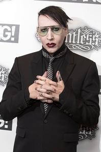 Marilyn Manson assiste à la Relentless Energy Drink Kerrang Marilyn Manson assiste aux Relentless Energy Drink Kerrang!  Awards à la Troxy le 11 Juin, 2015 Londres, Angleterre.
