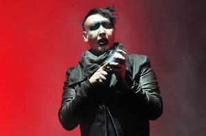 13 Juin 2015 - Marilyn Manson sur scène lors de la Journée 2 de la Download Festival à Donington Park le 13 Juin 2015, Castle Donington, en Angleterre.
