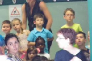 Notre Fils a sa fête d'école.