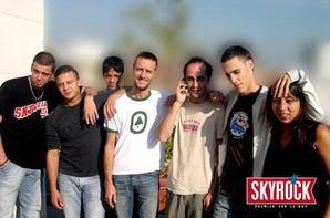 L' équipes de Skyrock du matin dans le mornirg de 6h00 à 9h00