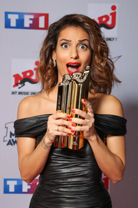 Tal au nrj music award 2014 / photocall