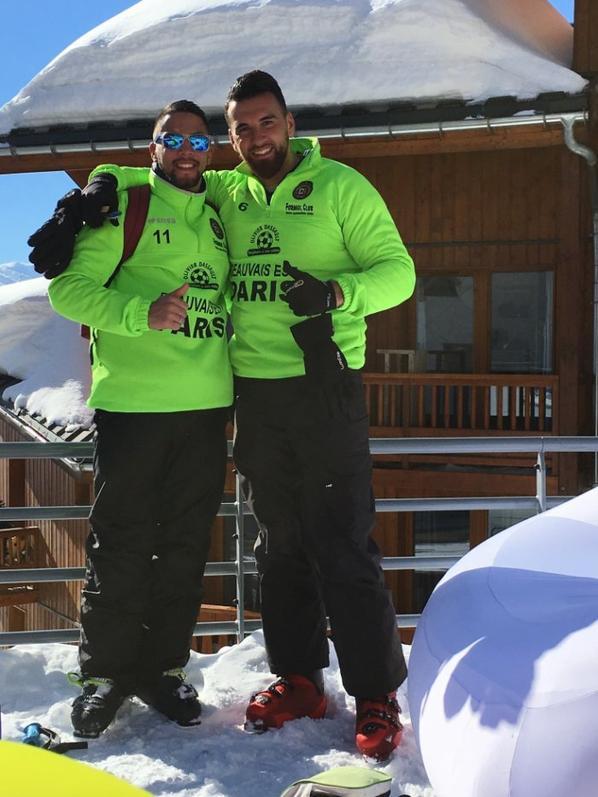 Les communaux au ski!!