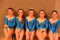 3 podiums bretons par équipe pour La Quimpéroise gymnastique artistique