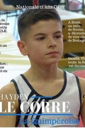 2 gymnastes de La Quimpéroise au championnat de France à Auxerre