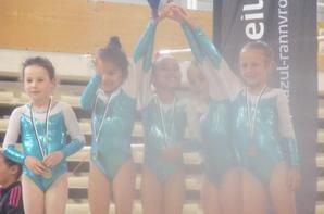 3 équipes poussines de la quimpé sur le podium breton <3 à Saint Brieuc