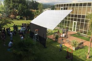 Quelques photos du tournage (1)