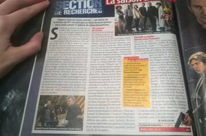Article de Télé Loisirs première partie