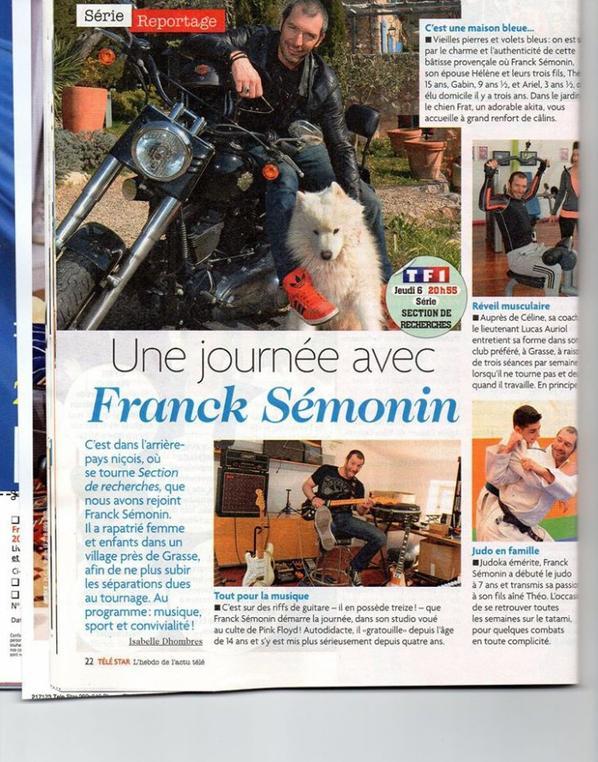 Franck Sémonin dans Télé Star