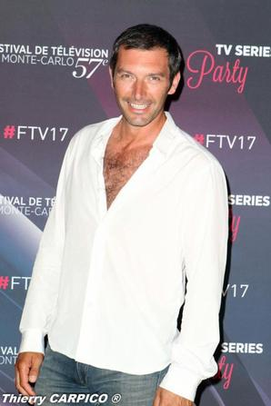 Franck Sémonin au Festival de Télévision de Monte Carlo FIN