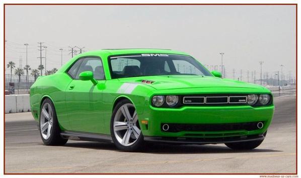 voici les voitures américaines que j'aime !