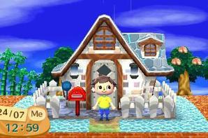 Voici mes maison par étape