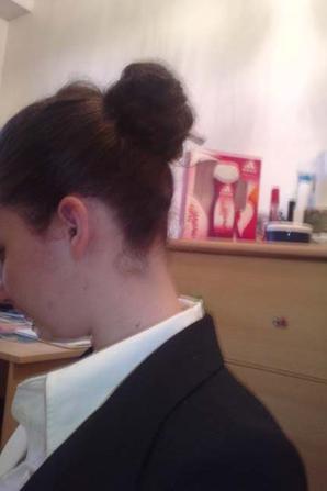 coiffure et habillage pour le nouvel an :)
