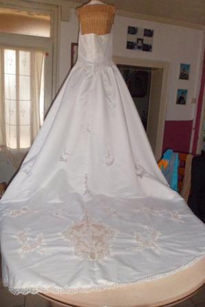 vends robe marier