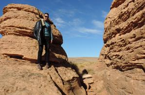 Visite dans le désert de l'Algérie