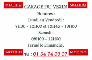 Le Garage du Vexin est Ouvert !!!!!
