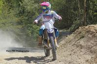 Entrainement a  Larchant motos 77