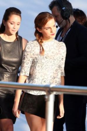 Emma Watson au Grand Journal de Canal+ !