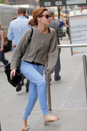 New York pour la Jeune Atrice