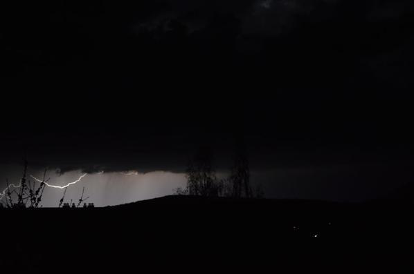 Orage à Vernon dans la nuit du 12 au 13 avril 2016 (1/2)