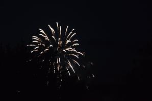 Feu d'artifice à Vernon 13/07/2016