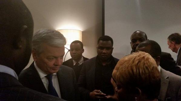 ALTERNANCE-243 a rencontré le ministre des affaires étrangères Belge Didier Reynders