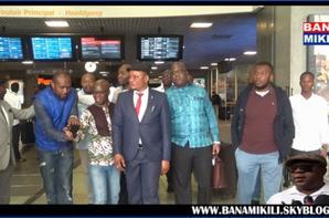 Arrivée de Felix Tshisekedi et J-M Kabund à BXL émission ezo ya