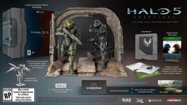 coffret collector halo 5