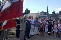 cérémonie du 14 juillet 2017