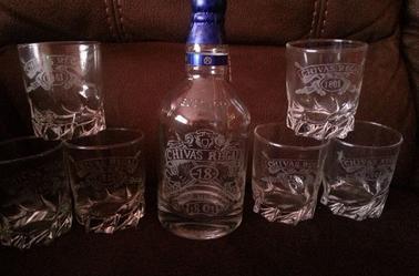 Nouveau service à Whisky Chivas à vendre