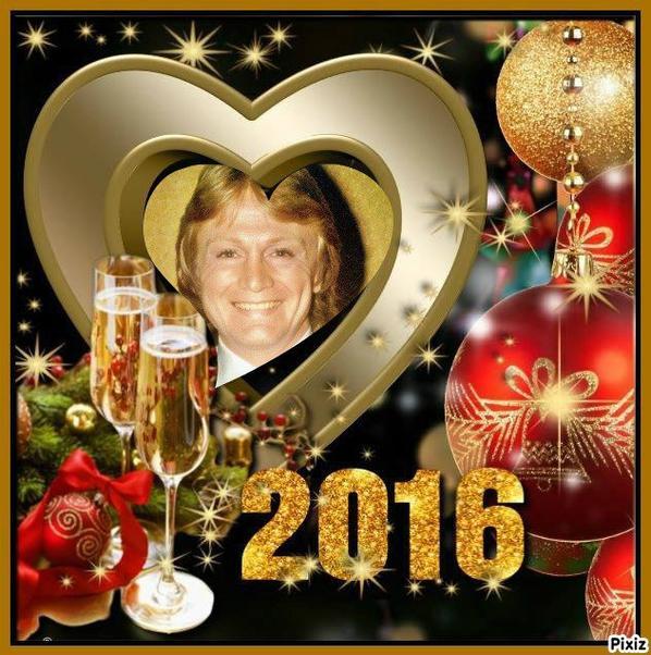 Bonne année 2016 ♥♥♥