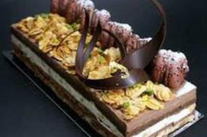 des pieces de patisserie