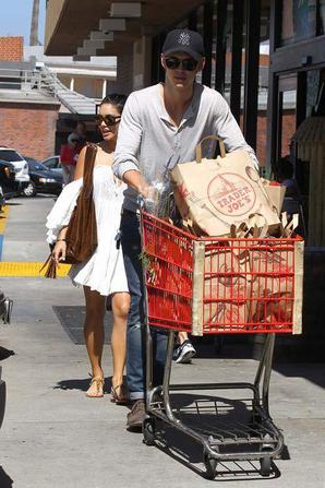 Vanessa et Austin a l'épicerie