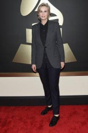 Jane hier à la 57ème cérémonie des Grammy :)