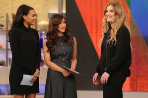 Naya hier sur le plateau de The View :)
