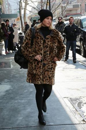 Dianna hier à NY :)